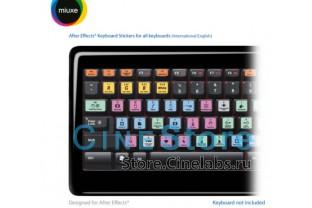 Наклейки на клавиатуру Adobe After Effects