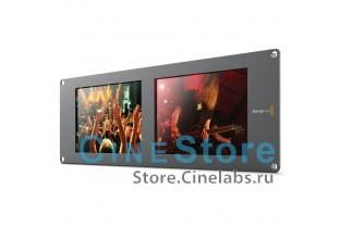 "Монитор рэковый Blackmagic Design SmartView Duo сборка 2x8"" LCD"