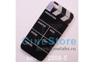 Чехол пластиковый для iPhone 5 5G хлопушка для кино