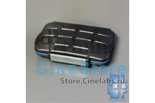 Кейс футляр водонепроницаемый ударопрочный для 4 CF 2 SD 2 MicroSD 2 MS Duo карт памяти