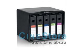 """Кейс хранилище для 5-ти 3.5"""" дисков защитное антистатичное"""