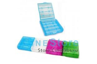 Футляр для батареек и аккумуляторов AA AAA пластиковый