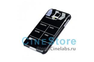Чехол пластиковый для Samsung Galaxy S5 i9600 G900 хлопушка для кино