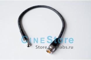 кабель 6мм переходник SDI mini BNC на BNC Male 0,3m
