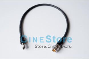 кабель 6мм переходник SDI mini BNC на BNC Male 0,4m