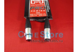 Кабель XLR Male to Female патч-корд HOSA Pro  0,5м Neutrik Connectors
