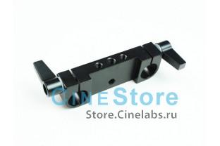 Зажим Adapter Rod Clamp Rail Block For 15mm