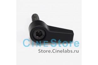 Винт металлический  фиксатор M5*20mm черный