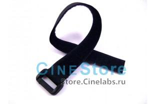 """Стяжки для кабеля с пряжкой регулируемые """"липучки"""" 1 шт. 2,5см x 32,5см"""