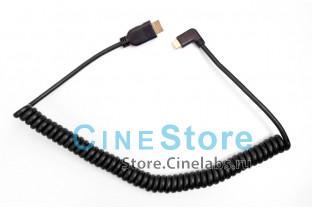 Витой кабель угловой Mini HDMI на HDMI
